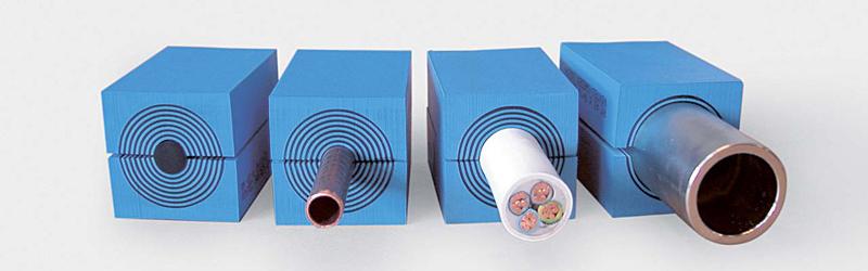מודול אחד מגוון קטרים של כבלים